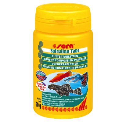 Sera Spirulina fodertabletter – 100 tabletter (60 g)