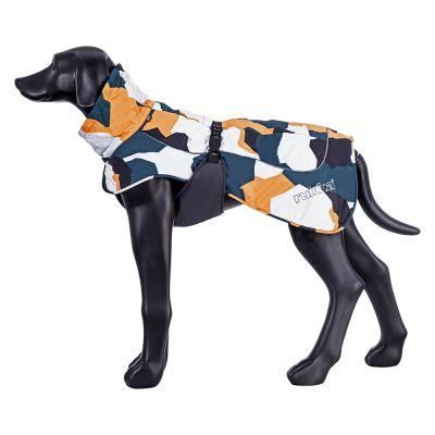 Rukka® Stormy -koirantakki, maastokuvio - n. 38 cm selänpituus (koko 35)