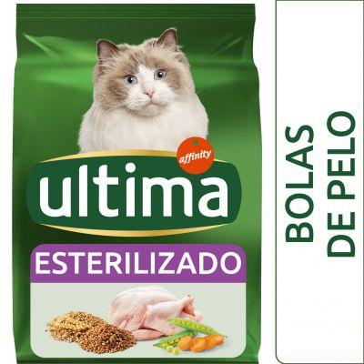 Ultima Esterilizado Bolas de pelo para gatos - 2 x 7,5 kg - Pack Ahorro