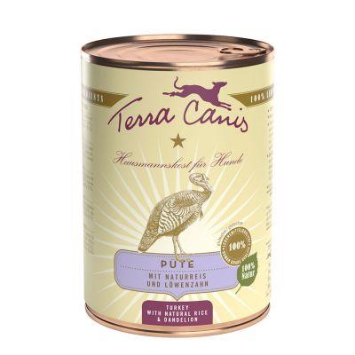 Terra Canis 6 x 400 g - riista, kurpitsa, amarantti & puolukka