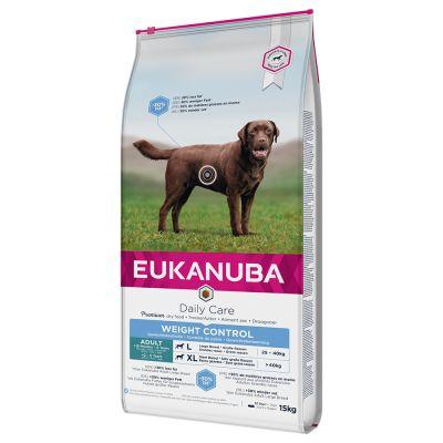 Eukanuba Adult Weight Control razas grandes - 2 x 15 kg - Pack Ahorro