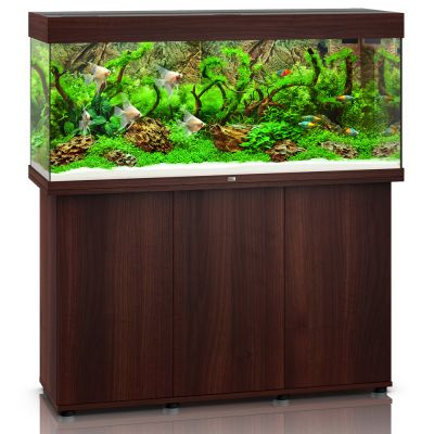 Juwel Rio 240 SBX -akvaario + akvaariokaappi - valkoinen