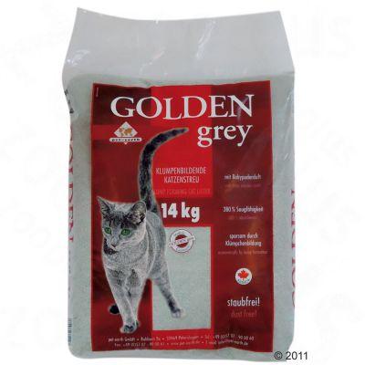 Golden Grey kattsand – 14 kg