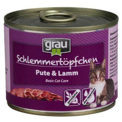 Grau Schlemmertopf getreidefrei Probiermix 6 x 200 g
