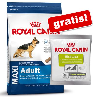 Stor påse Royal Canin Size + Educ Low Calorie på köpet! – Medium Light (13 kg)