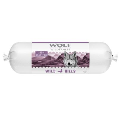 "Wolf of Wilderness Adult Wurst ""Green Fields"" - Lamm"