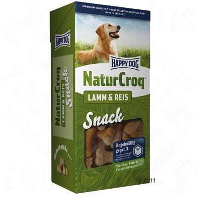 Happy Dog NaturCroq Snack Lamb & Rice - säästöpakkaus: 4 x 350 g