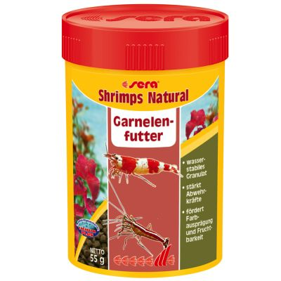 Sera Shrimps Natural Pokarm dla krabów i krewetek - 100 ml