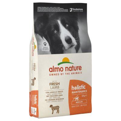 Almo Nature Holistic Adult Lamb & Rice Medium - 12 kg