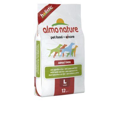 Almo Nature Adult Large, jagnięcina z ryżem - 12 kg