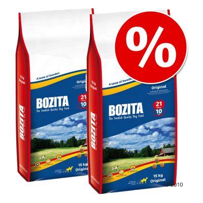 Ekonomipack: 2 stora påsar Bozita till lågpris! – Junior 25/12 (2 x 12,5 kg)