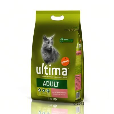 Ultima Cat Adult Salmon & Rice – 2 x 7,5 kg
