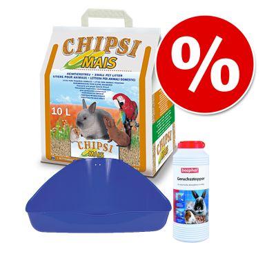 Hygienset för smådjur – 3-delat set