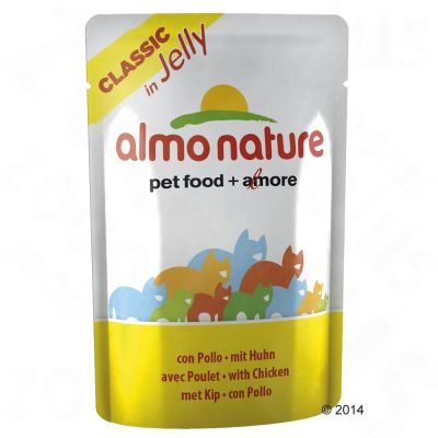 Almo Nature Classic in Jelly Pouch 6 x 55 g – Tonfisk