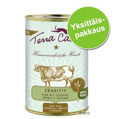 Terra Canis, viljaton 1 x 400 g – kani, kesäkurpitsa, aprikoosi & purasruoho