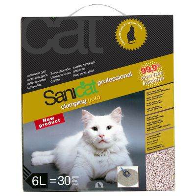sanicat-professional-clumping-gold-vyhodne-baleni-3-x-6-l