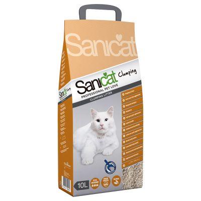 Sanicat Clumping -kissanhiekka - 10 l