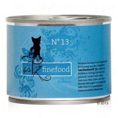 Catz Finefood -purkkiruoka 6 x 200 g - siipikarja