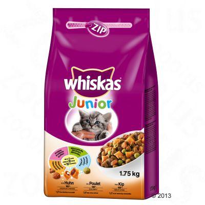 Whiskas Junior Kyckling – Ekonomipack: 2 x 1,75 kg