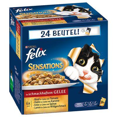 felix-sensations-in-gelei-kattenvoer-24-x-100-g-vleesvariatie