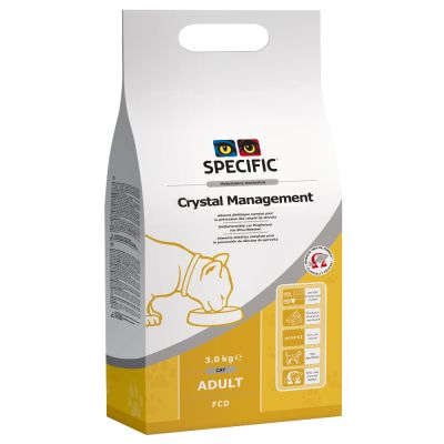 Specific Cat FCD Crystal Management - säästöpakkaus: 2 x 8,5 kg