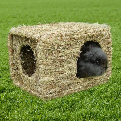 Domek z trawy XL - Dł. x szer. x wys.: 37 x 30 x 28 cm