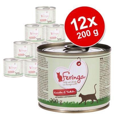 Feringa Classic Meat Menu -säästöpakkaus 12 x 200 g - siipikarja