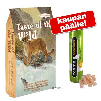 6,8 kg Taste of the Wild + Cosma Snackies kaupan päälle! – Rocky Mountain Feline