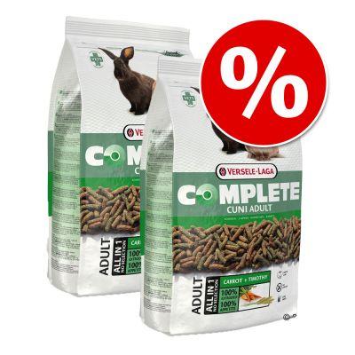 Ekonomipack: 2 eller 4 påsar Versele-Laga Complete – Chinchilla & Degu Complete foder (2 x 1,75 kg)