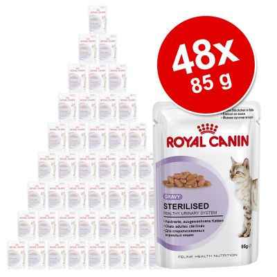 Ekonomipack: 48 x 85 g Royal Canin – Ultra Light i sås (48 x 85 g)