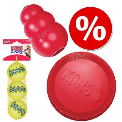 kong-jatekszett-kutya-frizbi-kong-classic-teniszlabdak-large-frizbi-classic-teniszlabda-kettes-csomagban