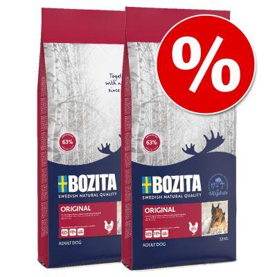 Säästöpakkaus: 2 x Bozita -suurpakkausta - Light (2 x 10 kg)