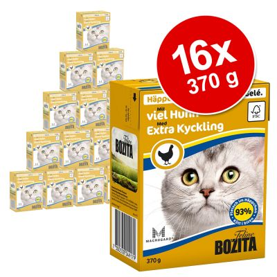 Bozita Chunks in Jelly 16 x 370 g - kani