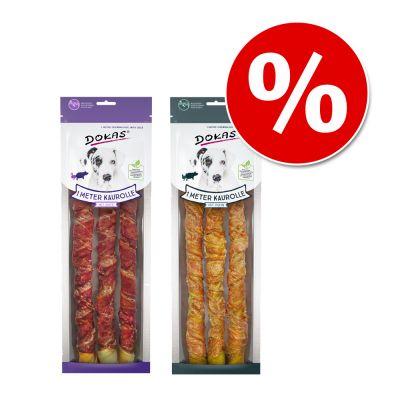 Dokas-pururullametri mix: kana ja ankka - mix 6 x 320 g