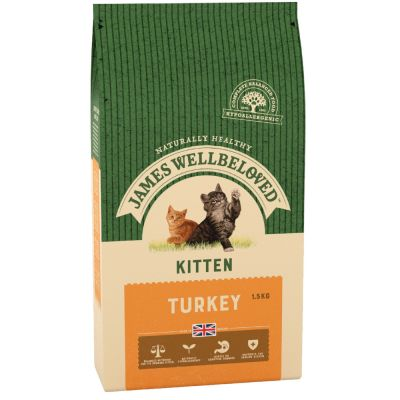 James Wellbeloved Kitten Turkey & Rice - 1,5 kg