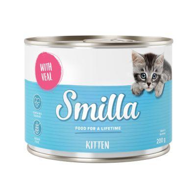Smilla Kitten 6 x 200 g - Pollo