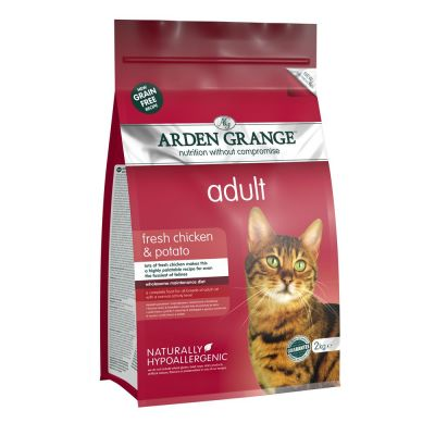 Chicken & Potato Arden Grange Dry Cat Food
