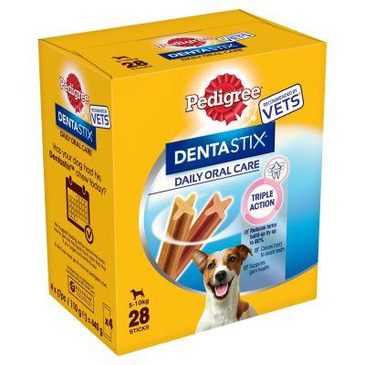 1 kg Crave + 28 ks Pedigree Dentastix denní péče S pro malé psy za skvělou cenu! - s krůtím & kuřecím