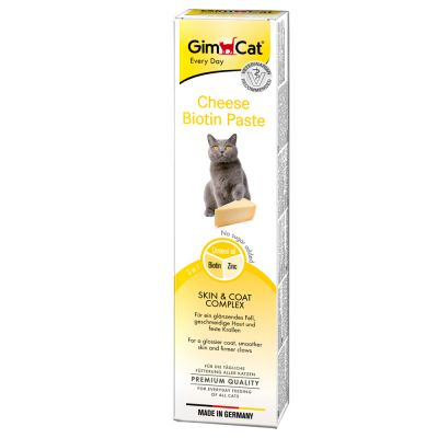 GimCat Cheese Biotin Paste - 200 g