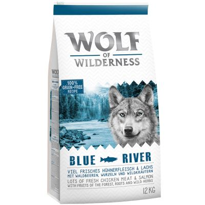 "Wolf of Wilderness Adult ""Blue River"" - Lachs"
