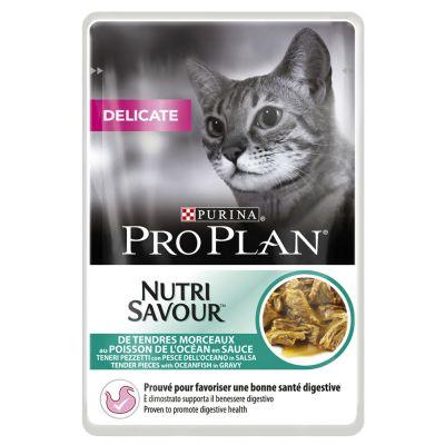 Pro Plan Delicate 6 x 85 g – Delicate Turkey