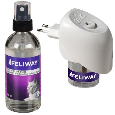 Feliway påfyllnadsspray vita fördelare eller omgivningsspray – Påfyllnadsflaska (refill) för 1 månad (24 ml)