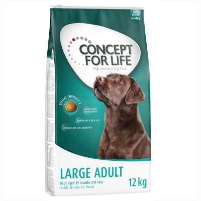 Concept for Life Large Adult - bonuspakkaus 12 kg + 1,5 kg