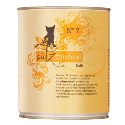 Catz Finefood -purkkiruoka 6 x 800 g - siipikarja