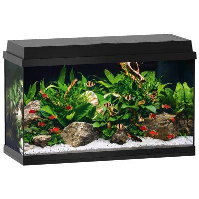 Juwel Aquarium Primo LED Starterset 110 - Ca. 110 l, Zwart