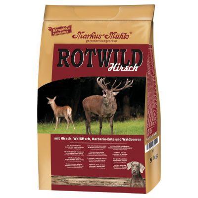 Markus-Mühle Rotwild z kaczką piżmową i jeleniem - 5 kg