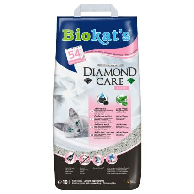 Biokat´s Diamond Care Fresh -kissanhiekka - 10 l