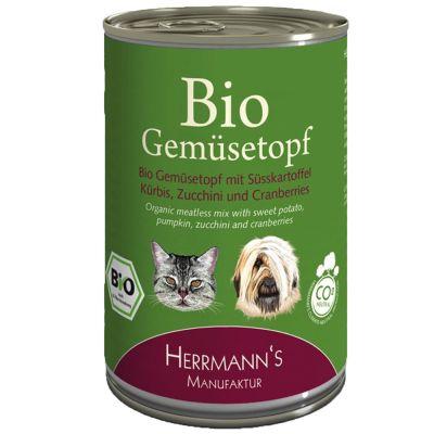 Herrmanns Bio -vihannespata 6 x 400 g - 6 x 400 g
