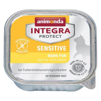 Image of 20 + 4 gratis! 24 x 100 g Animonda Integra Protect Adult - Diabetes mit Geflügel