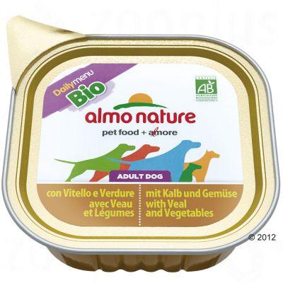 Almo Nature Daily Menu Bio 6 x 100 g – Kyckling & grönsaker